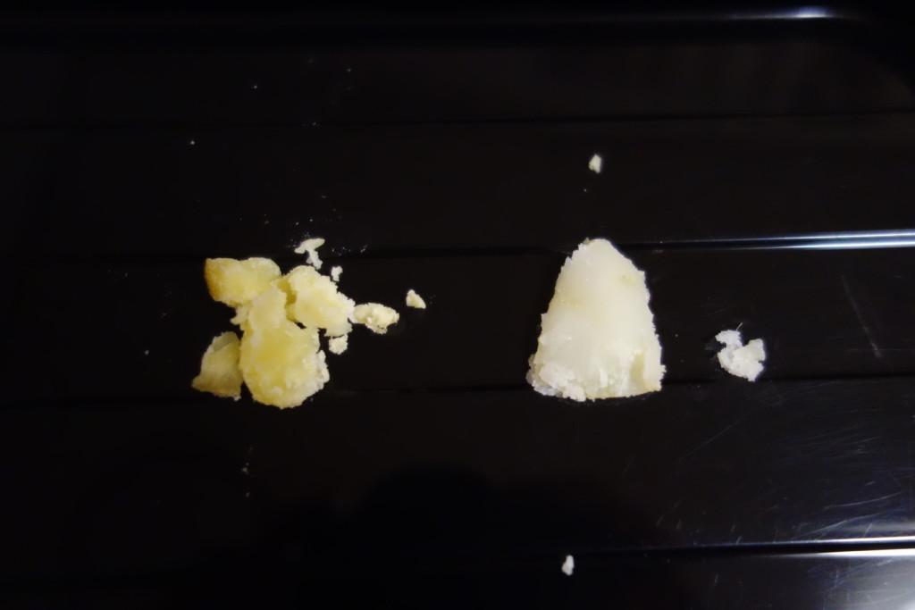 中身が真っ白な芋