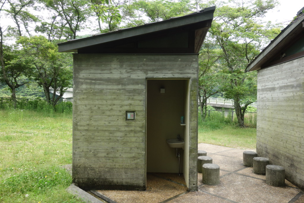 市民農園トイレ