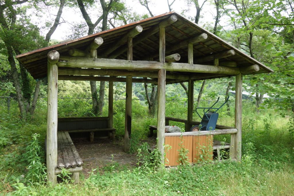 市民農園休憩場
