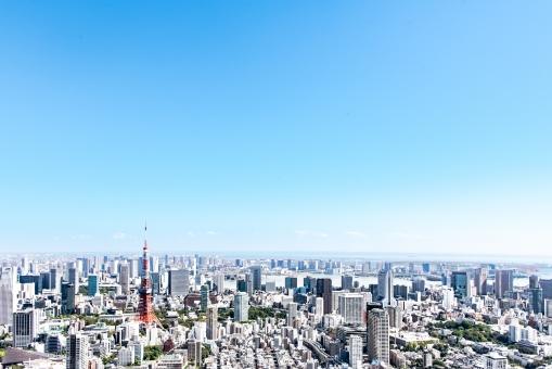 都心の東京風景